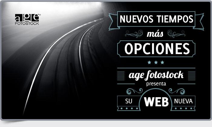 NUEVOS TIEMPOS, M�S OPCIONES. age fotostock presenta su nueva WEB