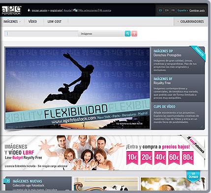 NUEVA WEB de age fotostock