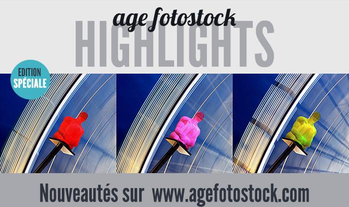 age fotostock HIGHLIGHTS - EDITION SPECIALE - Nouveautés sur www.agefotostock.com