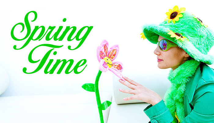 SPRING TIME at age fotostock