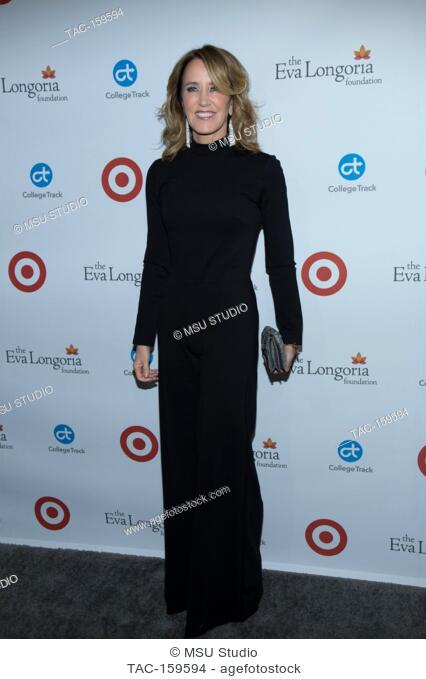 Felicity Huffman attends the 6th Annual Eva Longoria Foundation Dinner at Four Seasons Hotel Los Angeles at Beverly Hills on October 12, 2017 in Los Angeles