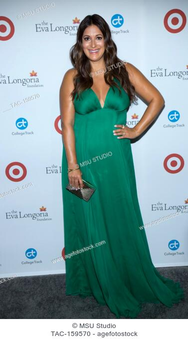Angelique Cabral attends the 6th Annual Eva Longoria Foundation Dinner at Four Seasons Hotel Los Angeles at Beverly Hills on October 12, 2017 in Los Angeles