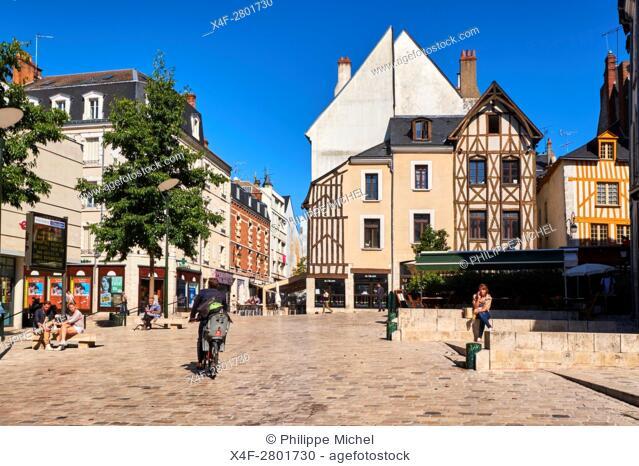 France, Loiret, Orleans, Chatelet square