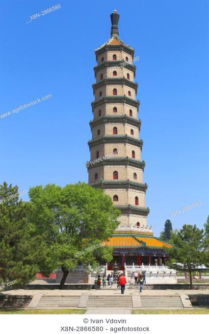 Sheli pagoda (1761), Chengde, China