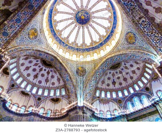 The Sultan Ahmed Mosque (Sultanahmet Camii) is an historic mosque in Istanbul. The mosque is popularly known as the Blue Mosque for the blue tiles adorning the...