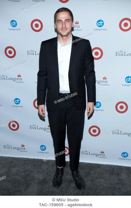 Kendall Schmidt attends the 6th Annual Eva Longoria Foundation Dinner at Four Seasons Hotel Los Angeles at Beverly Hills on October 12, 2017 in Los Angeles