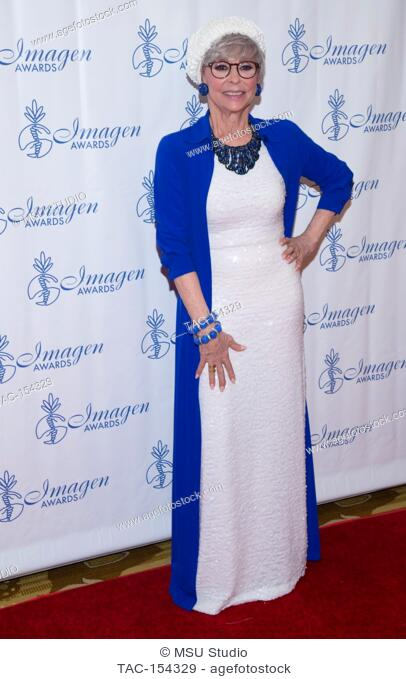 Actress Rita Moreno attends the 32nd Annual Imagen Awards at the Beverly Wilshire Four Seasons Hotel on August 18, 2017 in Beverly Hills, California