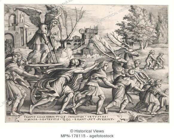 The Triumph of Galatea. Series/Portfolio: 18th Century Engravings ...