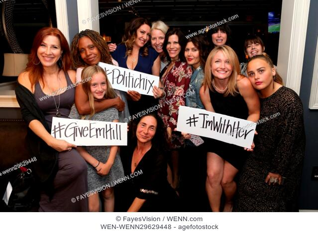 Iamwithher Fundraiser For Hillary Clinton Hosted By Joely Fisher Featuring Lisa Ann Walter Saskia Young Joely Fisher Tricia Leigh Fisher Elizabe