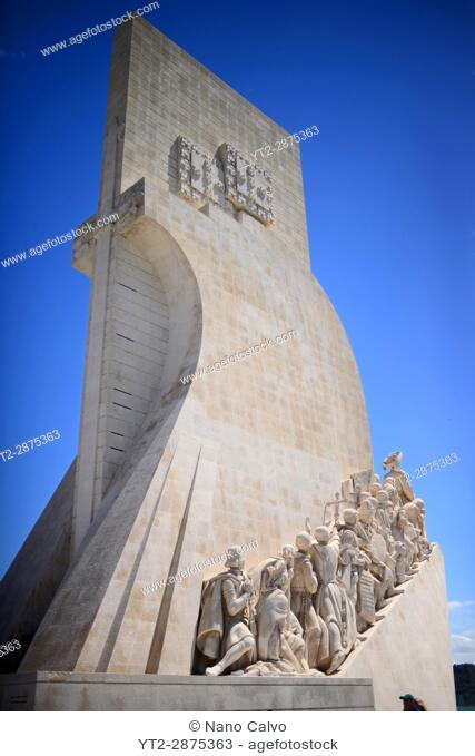"The Monument to the Discoveries (in Portuguese ""Padrão do Descobrimentos""), created by Cottinelli Telmo (1897–1948) and the sculptor Leopoldo de Almeida..."