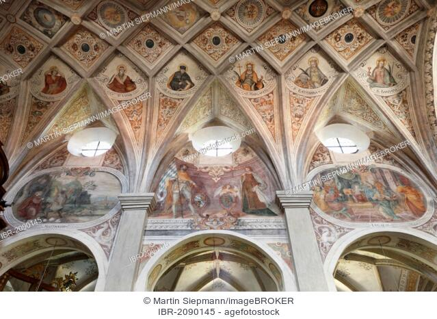 Monastery Church of St. Lambert, Seeon Abbey, Chiemgau, Upper Bavaria, Bavaria, Germany, Europe