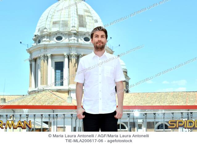 Director Jon Watts during the photocall of the film Spider Man: Homecoming. Zuma terrace, Rome, Italy 20-06-2017