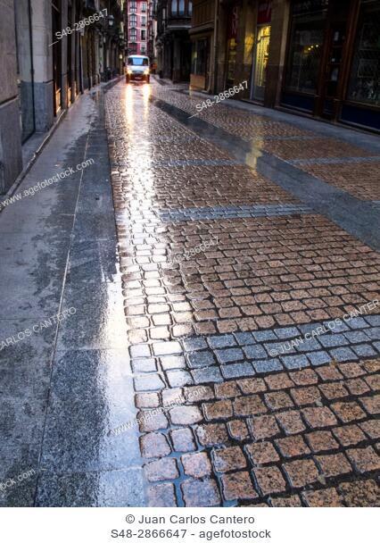 Casco antiguo de Bilbao. Vizcaya. Pais Vasco. España. Europa