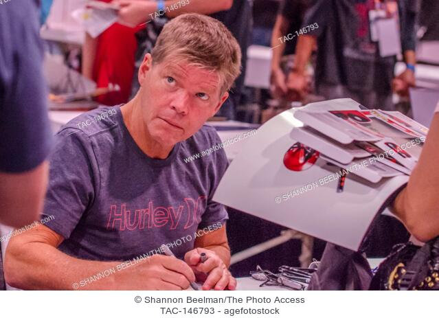 Rob Liefeld interacts with fans on June 24th 2017 at the Amazing Las Vegas Comic Con at the Las Vegas Convention Center in Las Vegas, NV