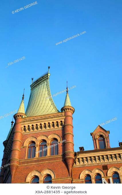 Norstedt Building (1882); Riddarholmen; Island; Stockholm; Sweden; Europe