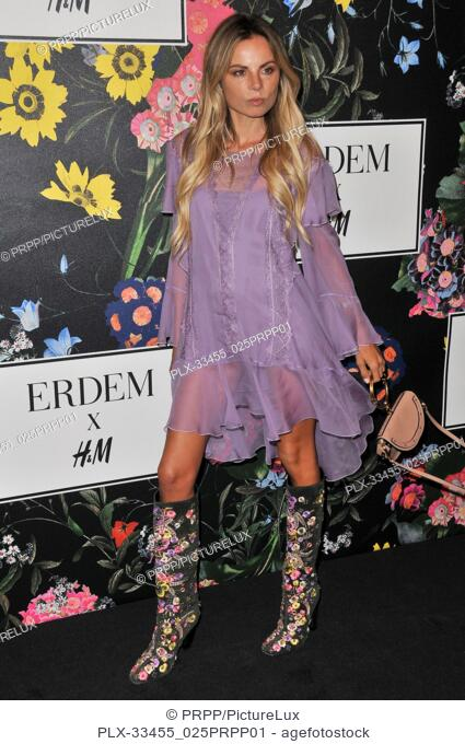 Erica Pelosini at the ERDEM x H&M Runway Show and Party held at The Ebell of Los Angeles in Los Angeles, CA on Wednesday, October 18, 2017