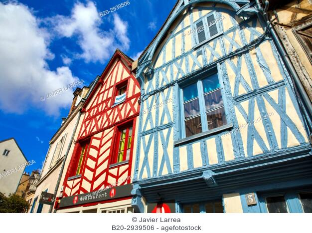 Auxerre, Yonne, Burgundy, Bourgogne, France, Europe