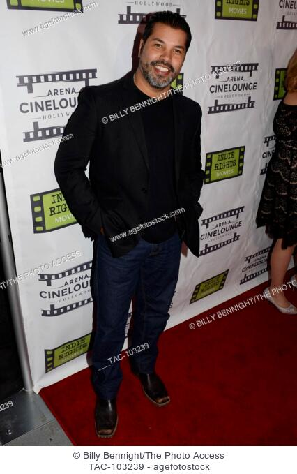 """Sal Velez Jr. arrives at the Los Angeles Screening of """"""""The Boatman"""""""" at Arena Cinelounge in Hollywood, Californioa on Decembar 16, 2016"""