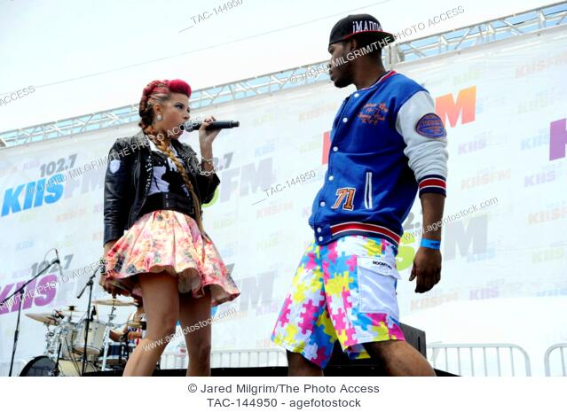 at 102.7 KIIS FM's Wango Tango Village Stage at The Home Depot Center on May 11, 2013 in Carson, California