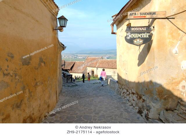 The Rasnov Citadel, Brasov, Romania, Europe