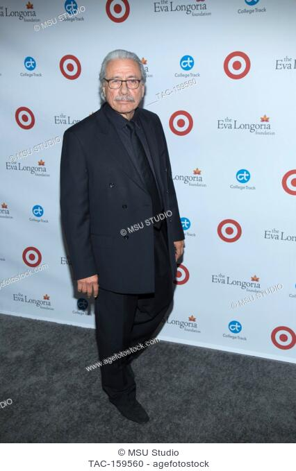 Edward James Olmos attends the 6th Annual Eva Longoria Foundation Dinner at Four Seasons Hotel Los Angeles at Beverly Hills on October 12, 2017 in Los Angeles