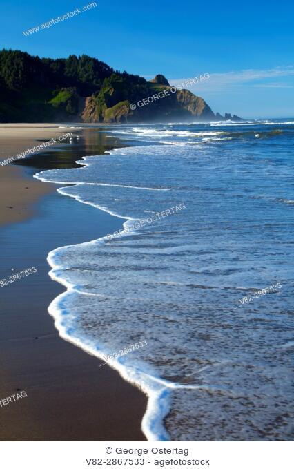 Open beach, Cascade Head Scenic-Research Area, Lincoln County, Oregon