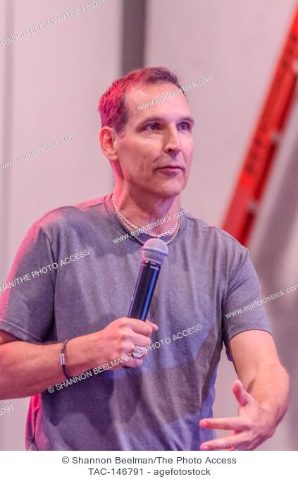 Todd McFarlane speaks to fans during a special appearance on June 24th 2017 at the Amazing Las Vegas Comic Con at the Las Vegas Convention Center in Las Vegas