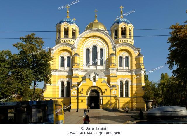 Saint Volodymyr's orthodox Cathedral, Kiev, Ukraine, Eastern Europe