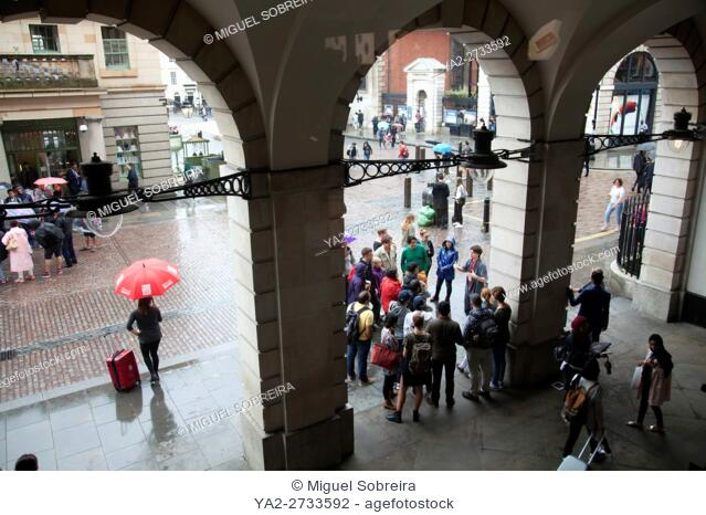 Covent Garden Arches in London UK