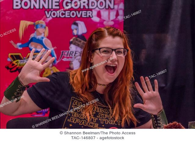 Bonnie Gordon appears on June 24th 2017 at the Amazing Las Vegas Comic Con at the Las Vegas Convention Center in Las Vegas, NV