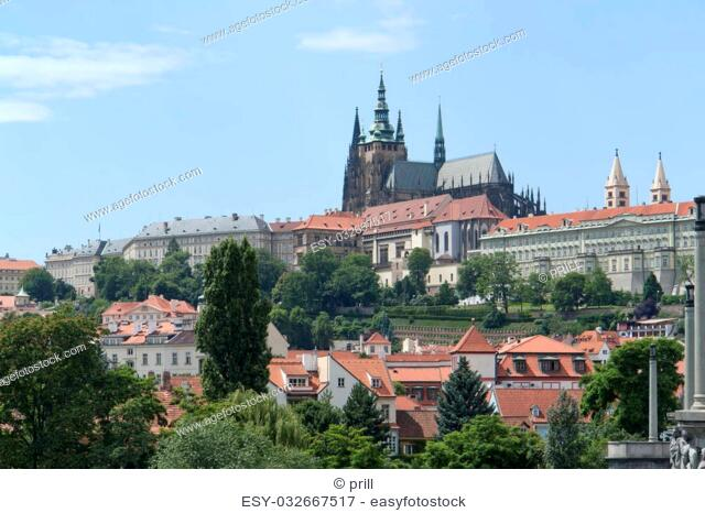 impression of Prague, the capital and largest city in the Czech Republic