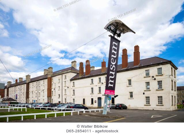 Ireland, Dublin, National Museum of Ireland, The Collins Barracks, exterior