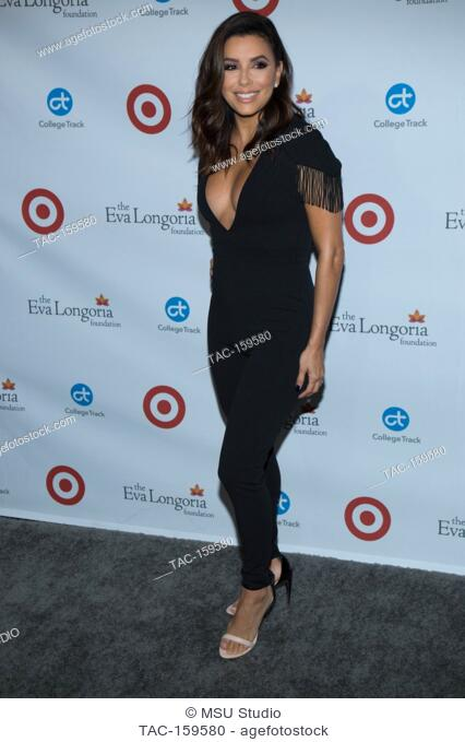 Eva Longoria attends the 6th Annual Eva Longoria Foundation Dinner at Four Seasons Hotel Los Angeles at Beverly Hills on October 12, 2017 in Los Angeles