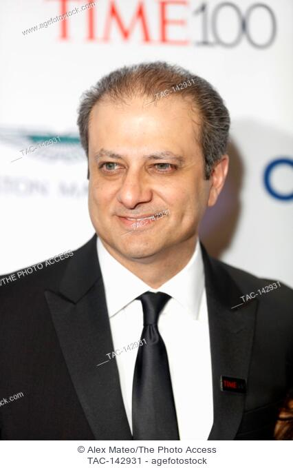 Preet Bharara attends the 2017 Time 100 Gala at Jazz at Lincoln Center on April 25, 2017 in New York City