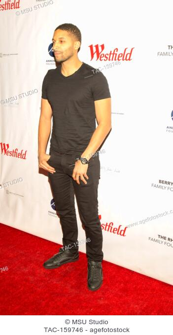 Norman Nixon Jr. attends Sunday Matinee of 'Turn Me Loose' at Wallis Annenberg Center for the Performing Arts on October 15, 2017 in Beverly Hills, California