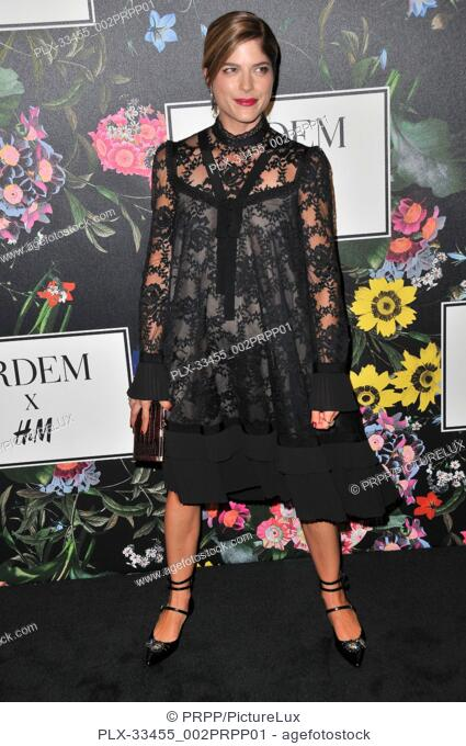 Selma Blair at the ERDEM x H&M Runway Show and Party held at The Ebell of Los Angeles in Los Angeles, CA on Wednesday, October 18, 2017