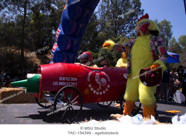 Atmosphere at the 2017 Red Bull Soapbox Race at Elysian Park on August 20, 2017 in Los Angeles, California