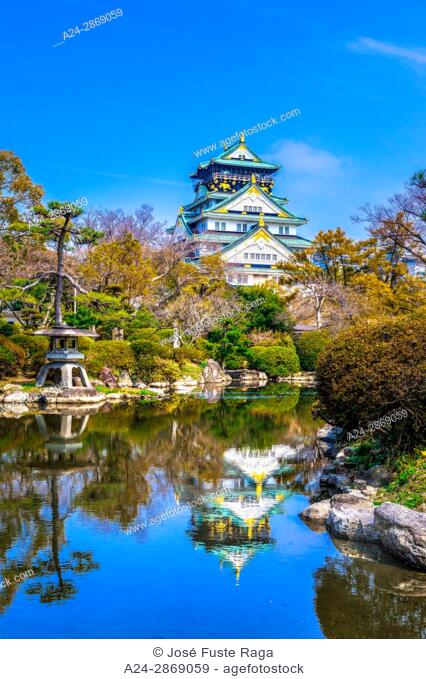 Japan,Kansai, Osaka City, Osaka Castle
