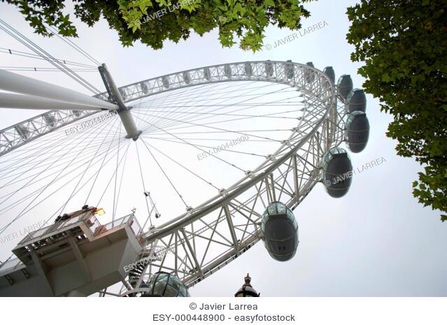 London Eye, London. England, UK
