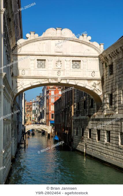 Ponte dei Sospiri - Bridge of Sighs, Venice, Veneto, Italy
