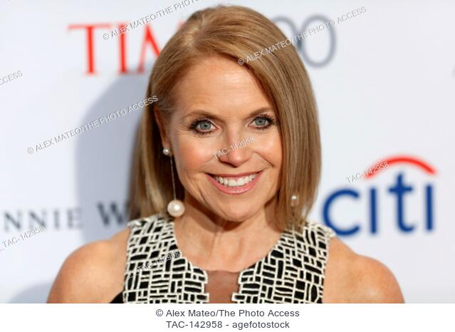 Katie Couric attends the 2017 Time 100 Gala at Jazz at Lincoln Center on April 25, 2017 in New York City