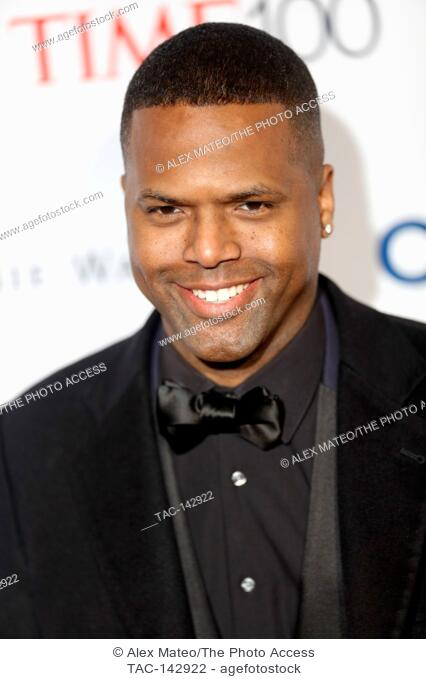 A.J. Calloway attends the 2017 Time 100 Gala at Jazz at Lincoln Center on April 25, 2017 in New York City