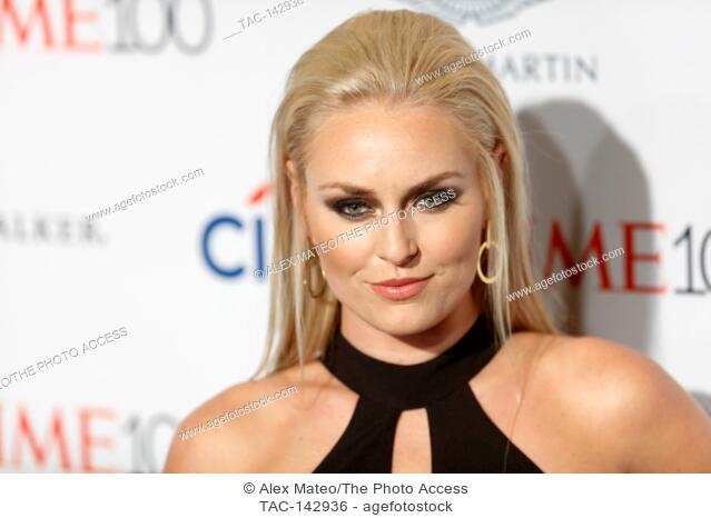 Lindsey Vonn attends the 2017 Time 100 Gala at Jazz at Lincoln Center on April 25, 2017 in New York City