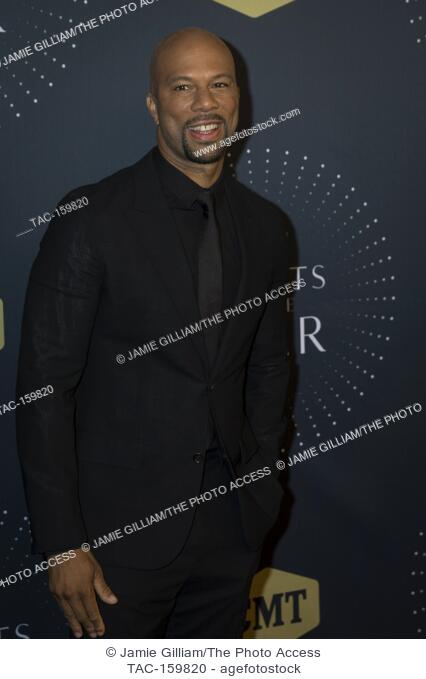 NASHVILLE, TN - Common arrives on the red carpet at the 2017 CMT Artists of the Year at the Schermerhorn Symphony Center in Nashville, TN