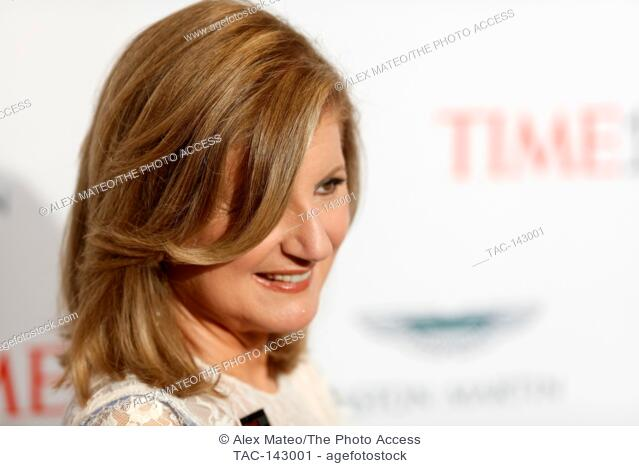 Arianna Huffington attends the 2017 Time 100 Gala at Jazz at Lincoln Center on April 25, 2017 in New York City