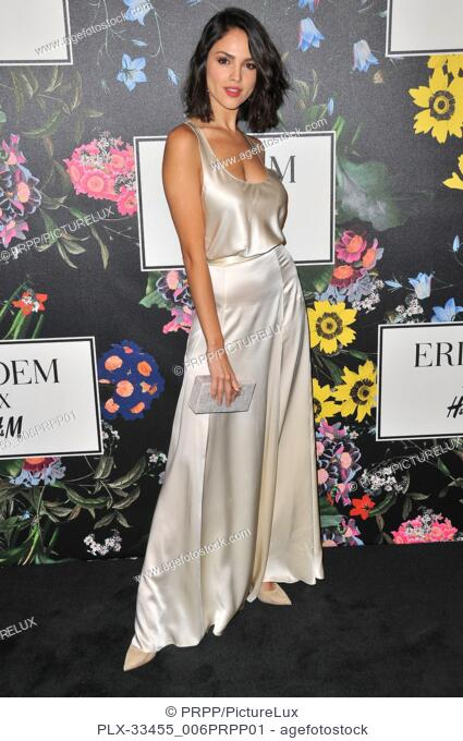 Eiza Gonzalez at the ERDEM x H&M Runway Show and Party held at The Ebell of Los Angeles in Los Angeles, CA on Wednesday, October 18, 2017