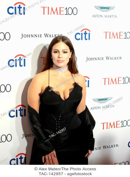 Ashley Graham attends the 2017 Time 100 Gala at Jazz at Lincoln Center on April 25, 2017 in New York City
