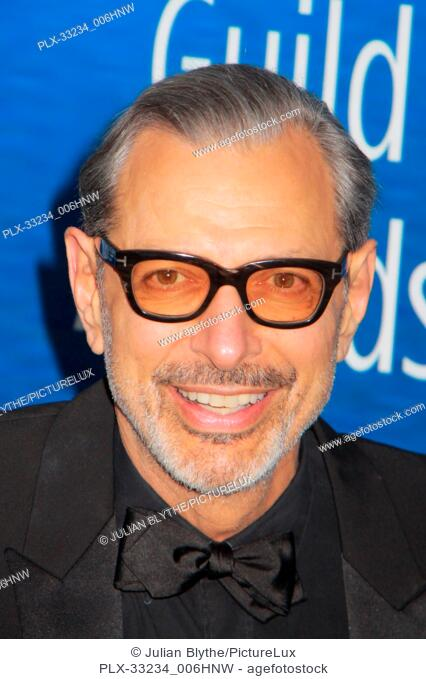 Jeff Goldblum 02/19/2017 2017 Writers Guild Awards held at the Beverly Hilton Hotel in Beverly Hills, CA Photo by Julian Blythe / HNW / PictureLux