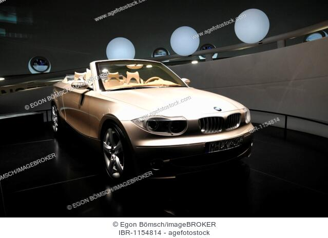 BMW Concept Coupe, BMW Museum, Munich, Bavaria, Germany, Europe ...