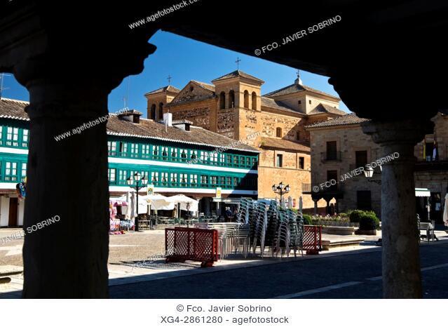 Plaza Mayor - Almagro - Ciudad Real - Castilla La Mancha - España - Europa